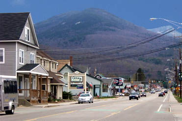 A View Of Rt 112 In Lincoln Just West The Kancamagus Scenic Byway